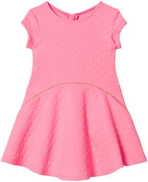 Billieblush Fuchsia Short Sleeve Skater Dress