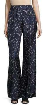 Max Mara Azzorre Italian Silk Pants