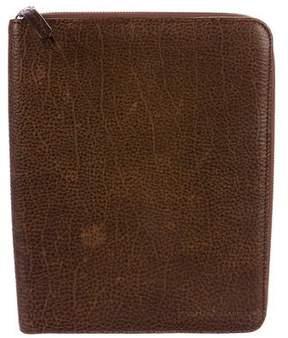 Brunello Cucinelli Grained Leather iPad Case
