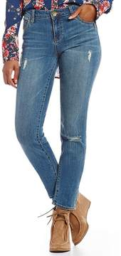 KUT from the Kloth Diana Skinny Jeans with Destruction Detail