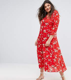 Alice & You Floral Maxi Tea Dress