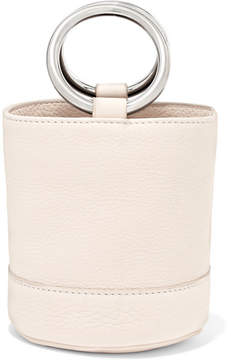 Simon Miller Bonsai 15 Mini Leather Bucket Bag - Off-white