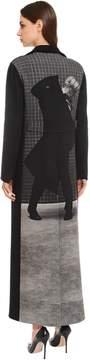 Akris Embellished Cashmere Cloth Coat