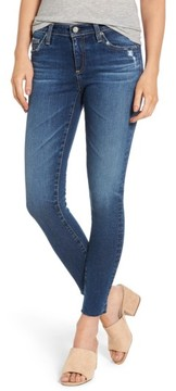 AG Jeans Women's The Legging Raw Hem Ankle Skinny Jeans