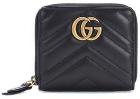 Gucci GG Marmont matelassé leather wallet - BLACK - STYLE
