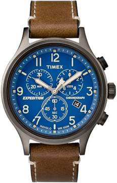 Timex TW4B09000JV 42mm Stainless Steel Expedition Scout Chrono Men's Watch