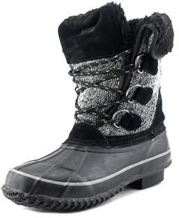 Khombu Maya Round Toe Canvas Snow Boot.