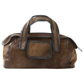 Pierre Hardy Brown Leather Handbag