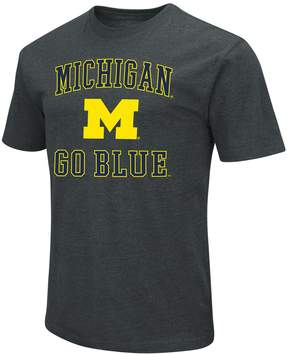 NCAA Men's Campus Heritage Michigan Wolverines Charcoal Tee
