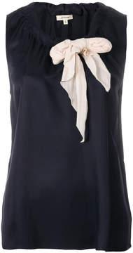 Bellerose bow detail vest