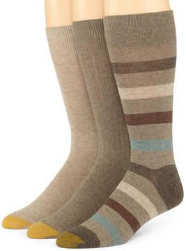Gold Toe 3-pk. Dress Stripe Socks
