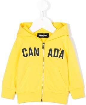DSQUARED2 Canada logo hoodie