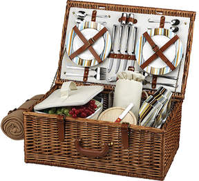 Picnic at Ascot Dorset Basket for Four with Blanket