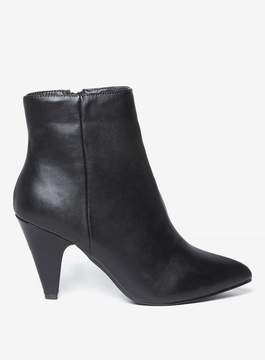 Dorothy Perkins Wide Fit Black 'Ada' Ankle Boots