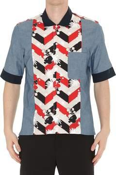 MAISON KITSUNÉ Venice Patched Shirt