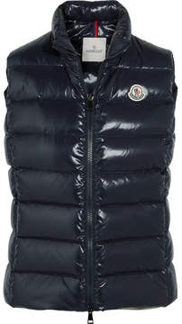 Moncler Ghany Quilted Shell Down Gilet - Navy