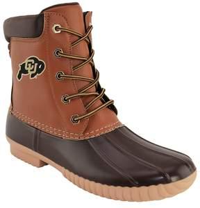 NCAA Men's Colorado Buffaloes Duck Boots