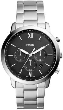 Fossil Men's Chronograph Neutra Stainless Steel Bracelet Watch 44mm