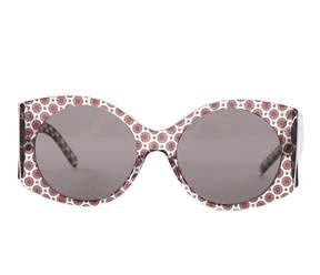 Stella McCartney Rectangle Trans Orcirrd Brown 2048/73 Sunglasses