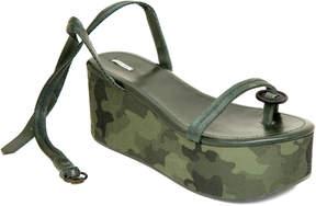 Max Studio diligent : button-toe platform sandals