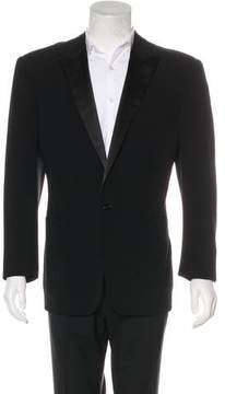 Ralph Lauren Black Label Wool Tuxedo Blazer