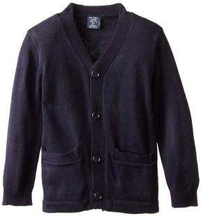 U.S. Polo Assn. USPA Long-Sleeve V-Neck Cardigan - Preschool Boys 4-7
