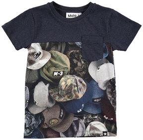 Molo Rubinsky Hat Jersey Tee, Size 4-12