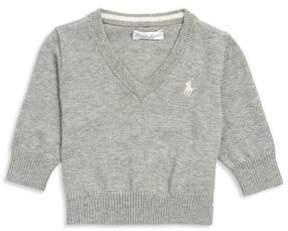 Ralph Lauren Baby's V-Neck Sweater