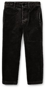 Ralph Lauren Suffield 10-Wale Corduroy Pants, Black, Size 2-4