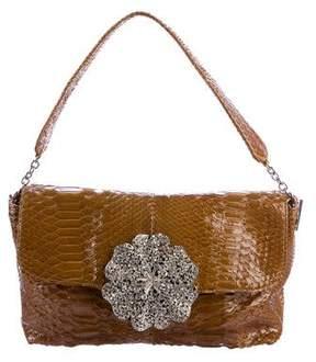 Sonia Rykiel Violetta Python Shoulder Bag