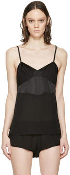Araks Black Silk William Camisole