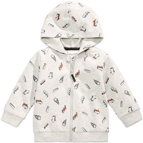 First Impressions Sketch-Print Hoodie, Baby Boys (0-24 months), Created for Macy's