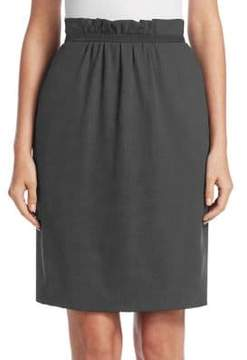 Emporio Armani Pleated Waist Skirt