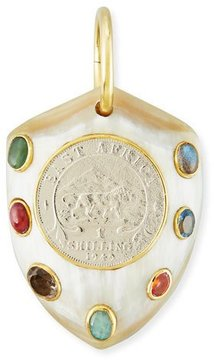 Ashley Pittman Mpenzi Light Horn, Coin & Gem Pendant Enhancer