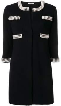 Charlott pearl embellished coat