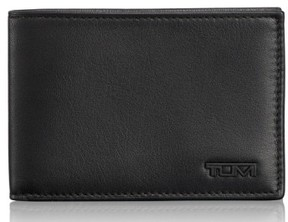 Tumi Men's Delta Id Lock Shielded Slim Single Billfold - Black