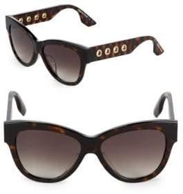 McQ 51MM Cat-Eye Tortoiseshell Sunglasses