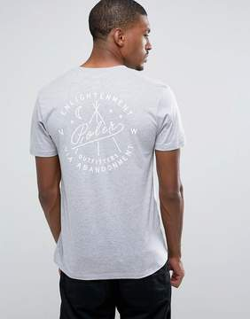 Poler T-Shirt With Enlightenment Back Print