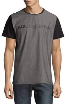 Karl Lagerfeld Paris Foil Logo Tee