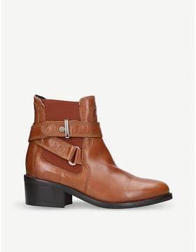 Carvela Stirrup leather ankle boots