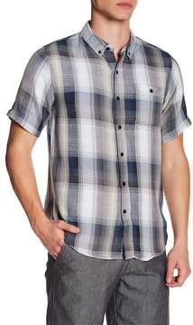 Ezekiel Freestyle Plaid Short Sleeve Regular Fit Shirt