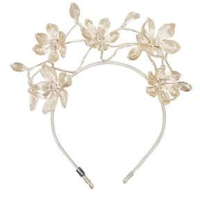 Colette Malouf - Mesh Pearl Primrose Headpiece