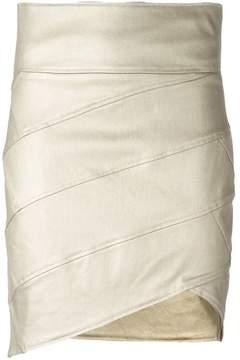 Alexandre Vauthier asymmetric skirt