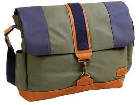 J-World J World Sam Canvas Messenger Bag - Khaki