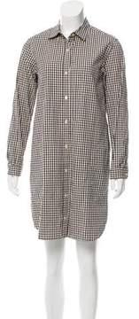 Steven Alan Gingham Button-Up Dress