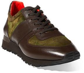 Ralph Lauren Ethan Camo Suede Sneaker