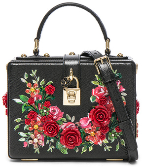 Dolce & Gabbana Studded Soft Bag