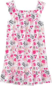 Gymboree Pink 'Stay Sweet' Candy Nightgown - Toddler & Girls