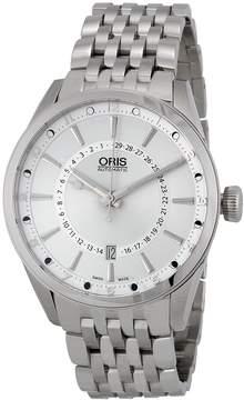 Oris Artix Pointer Moon Automatic Silver Dial Men's Watch 761-7691-4051MB
