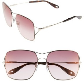 Women's Givenchy 58Mm Sunglasses - Light Gold